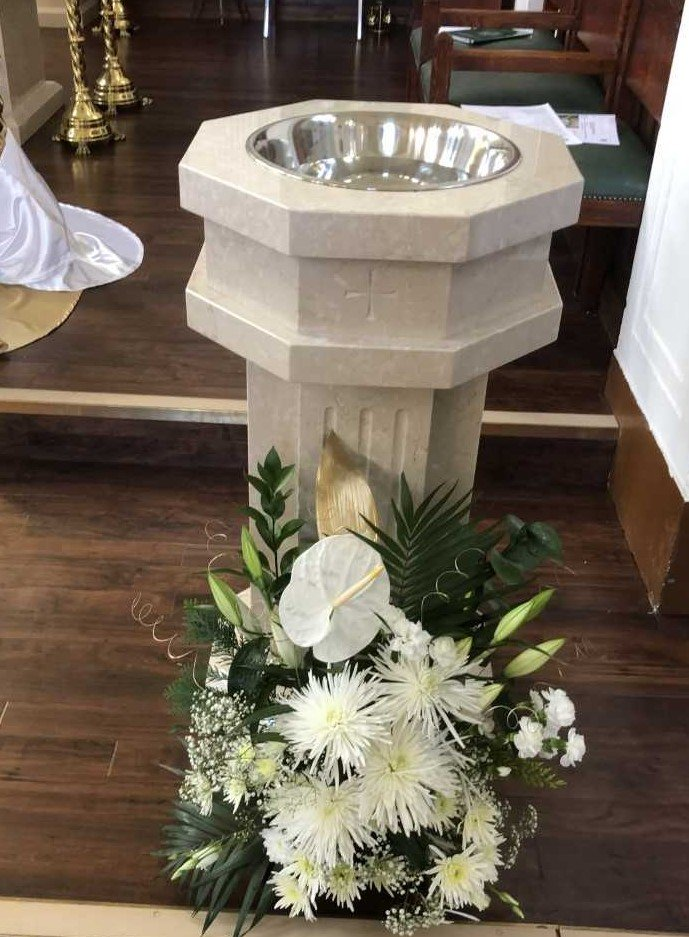 Baptismal Font English Martyrs Church Urmston