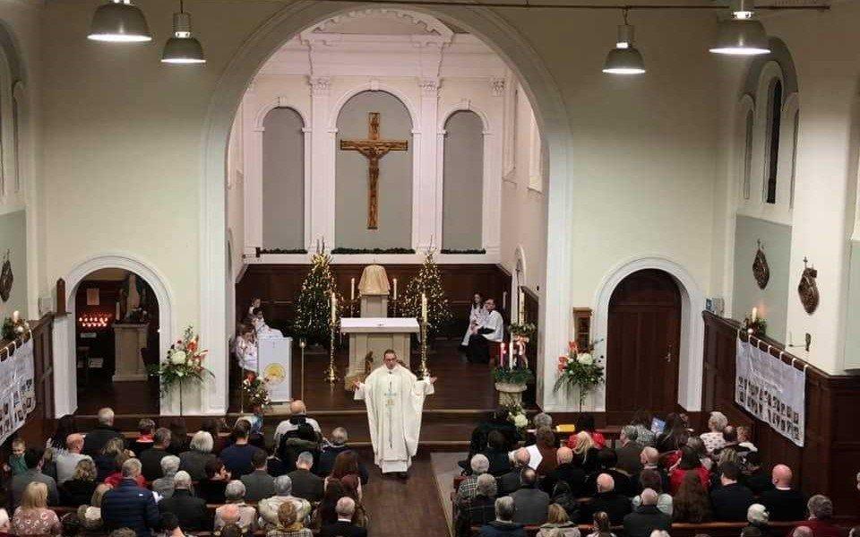 English Martyrs RC Church Urmston Mass