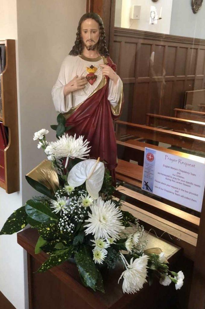 Jesus staute English Martyrs