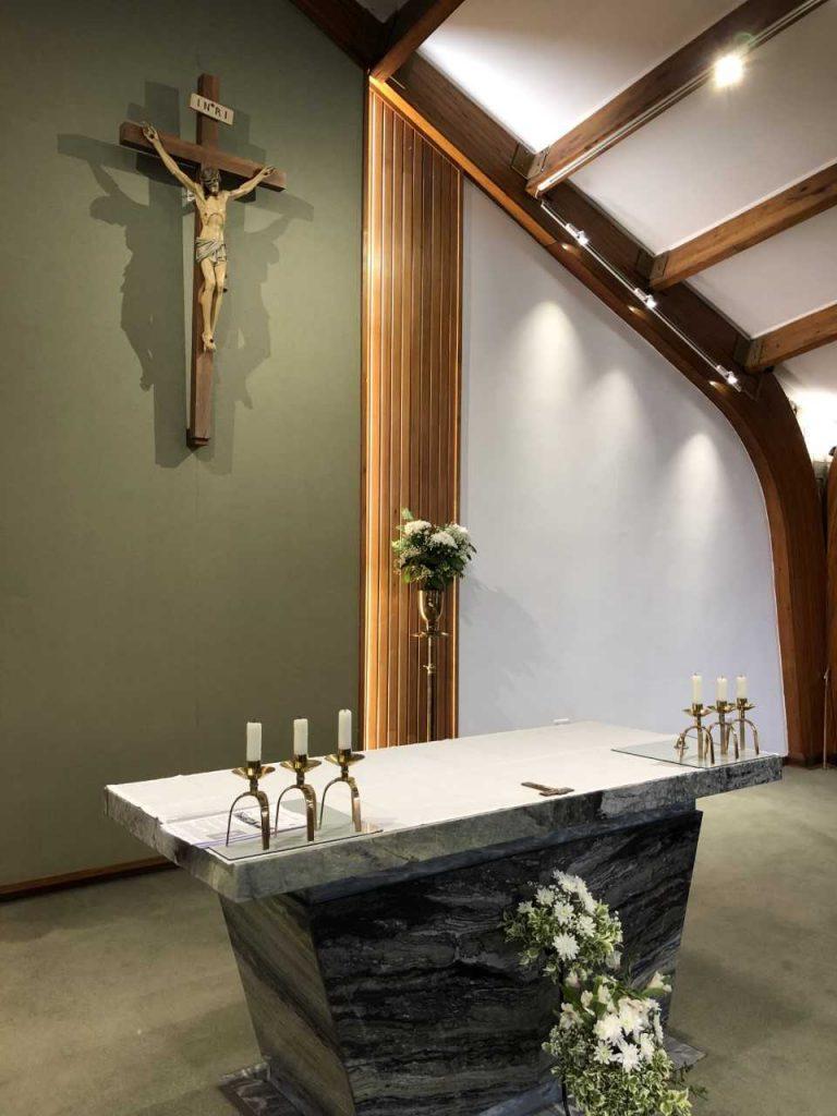 St Moniacas Rc Church Altar